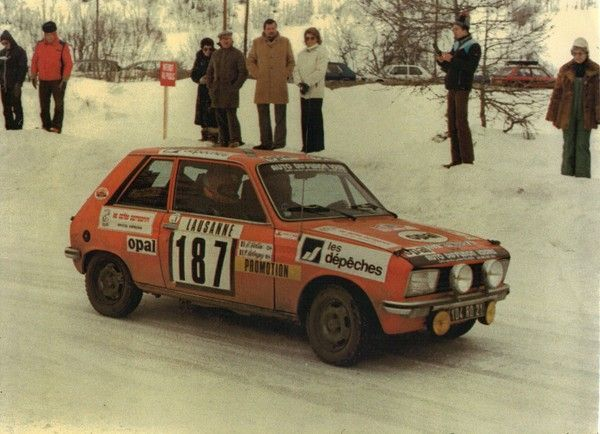 PEUGEOT 104 ZS RALLYE MONTE CARLO 1980